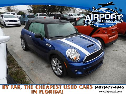 2015 MINI Convertible for sale in Orlando, FL