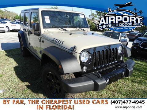2018 Jeep Wrangler Unlimited for sale in Orlando, FL