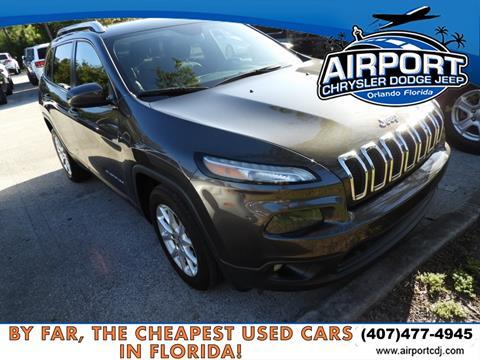 2014 Jeep Cherokee for sale in Orlando, FL