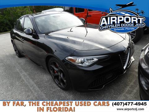 2017 Alfa Romeo Giulia for sale in Orlando, FL