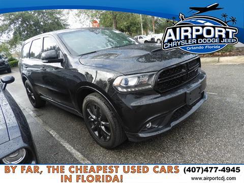 2018 Dodge Durango for sale in Orlando, FL