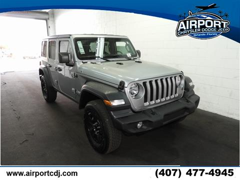 2018 Jeep Wrangler Unlimited for sale in Orlando, FL