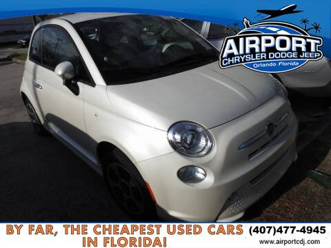 2018 FIAT 500e for sale at AIRPORT CHRYSLER DODGE JEEP RAM in Orlando FL