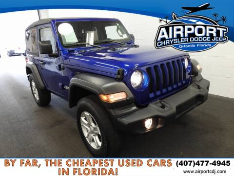 2019 Jeep Wrangler Sport for sale at AIRPORT CHRYSLER DODGE JEEP RAM in Orlando FL