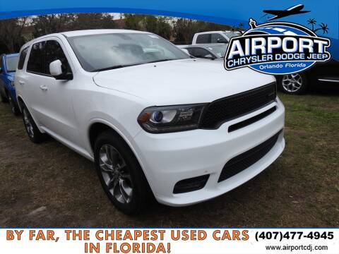 2019 Dodge Durango GT for sale at AIRPORT CHRYSLER DODGE JEEP RAM in Orlando FL