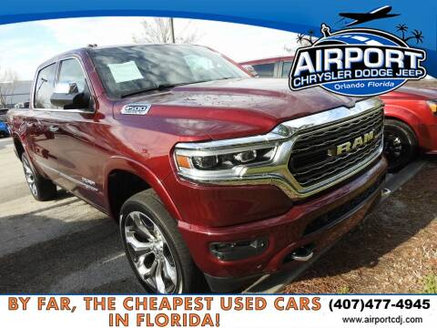 2019 RAM Ram Pickup 1500 Limited for sale at AIRPORT CHRYSLER DODGE JEEP RAM in Orlando FL