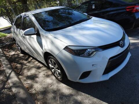 2016 Toyota Corolla for sale at AIRPORT CHRYSLER DODGE JEEP RAM in Orlando FL