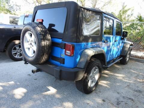 2011 Jeep Wrangler Unlimited for sale at AIRPORT CHRYSLER DODGE JEEP RAM in Orlando FL