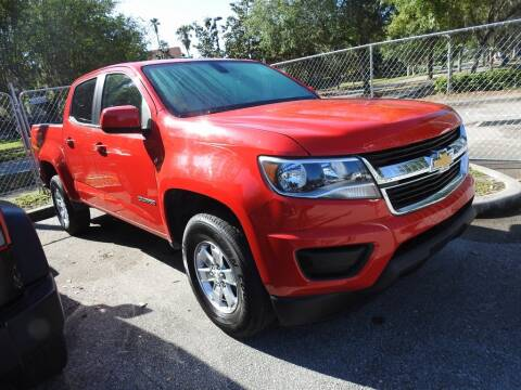 2017 Chevrolet Colorado Work Truck for sale at AIRPORT CHRYSLER DODGE JEEP RAM in Orlando FL