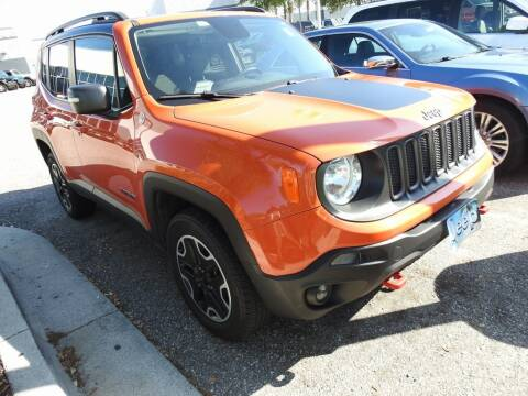 2016 Jeep Renegade Trailhawk for sale at AIRPORT CHRYSLER DODGE JEEP RAM in Orlando FL