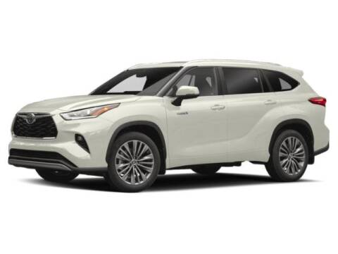 2020 Toyota Highlander Hybrid Platinum for sale at Butte Toyota in Butte MT