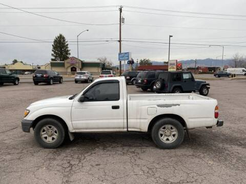 2002 Toyota Tacoma for sale at CHEAP CARS in Missoula MT