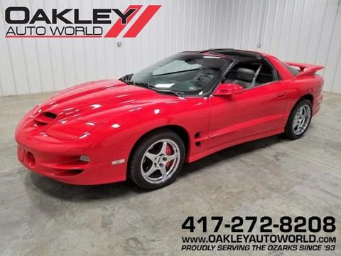 1999 Pontiac Firebird for sale in Branson West, MO