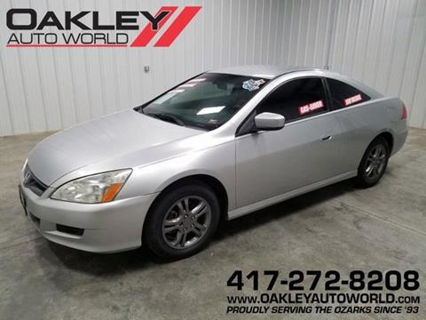 2007 Honda Accord for sale in Branson West, MO