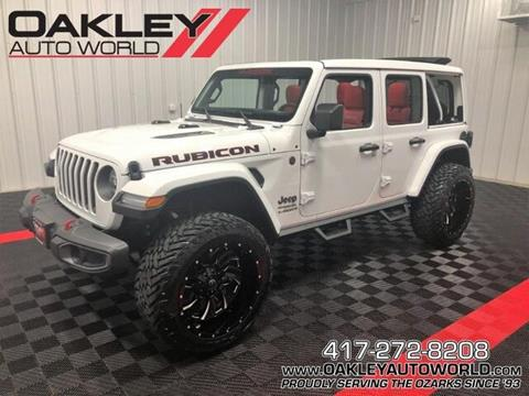 2020 Jeep Wrangler Unlimited for sale in Branson West, MO
