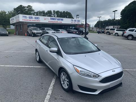 2016 Ford Focus for sale in Decatur, GA