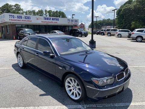 2005 BMW 7 Series for sale in Decatur, GA