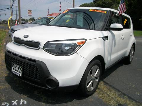 2016 Kia Soul for sale at Lentz's Auto Sales in Albemarle NC