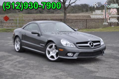 Used 2009 Mercedes Benz Sl Class For Sale In Georgetown Tx
