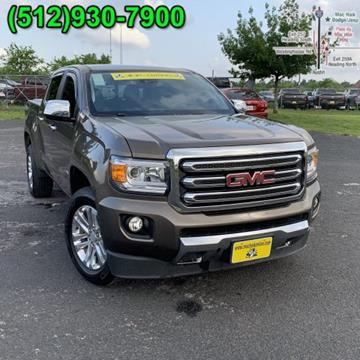 2015 GMC Canyon for sale in Georgetown, TX