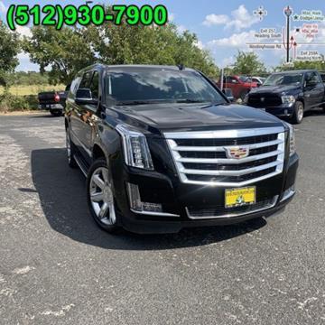 2019 Cadillac Escalade ESV for sale in Georgetown, TX