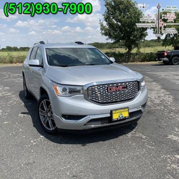 2018 GMC Acadia for sale in Georgetown, TX