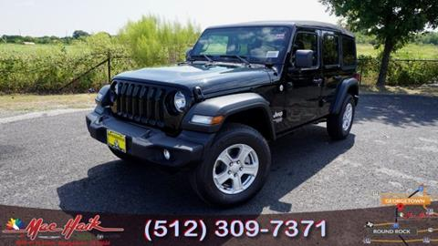 2020 Jeep Wrangler Unlimited for sale in Georgetown, TX