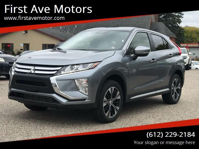 2019 Mitsubishi Eclipse Cross for sale at First Ave Motors in Shakopee MN