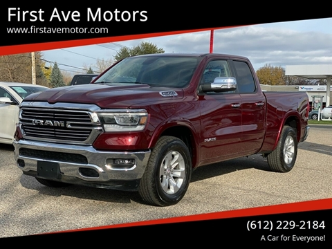 2019 RAM Ram Pickup 1500 Laramie for sale at First Ave Motors in Shakopee MN