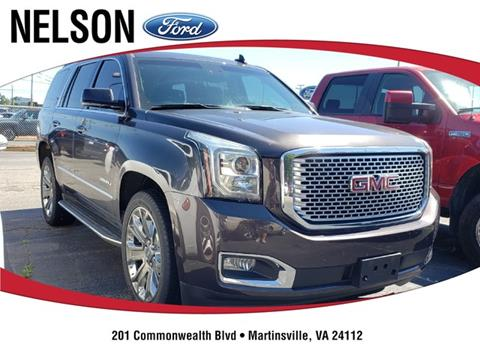 2016 GMC Yukon for sale in Martinsville, VA
