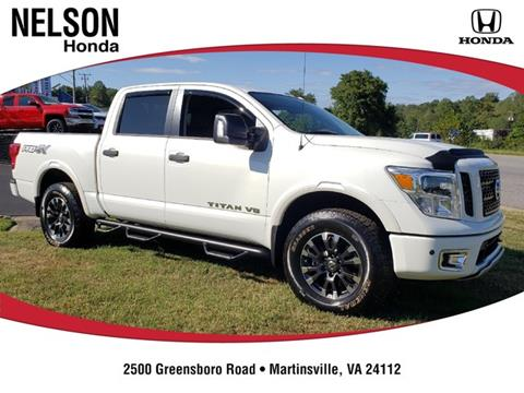 2019 Nissan Titan for sale in Martinsville, VA
