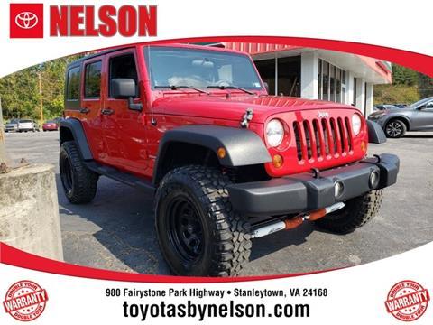 2010 Jeep Wrangler Unlimited for sale in Martinsville, VA
