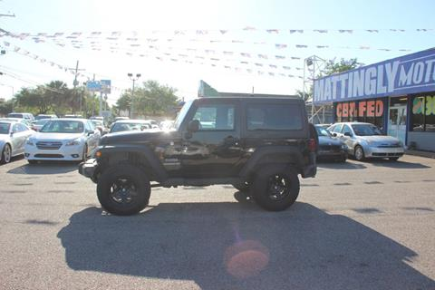 2011 Jeep Wrangler for sale in Metairie, LA