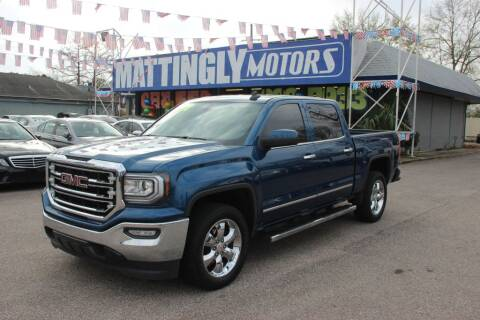 2018 GMC Sierra 1500 for sale at Mattingly Motors in Metairie LA