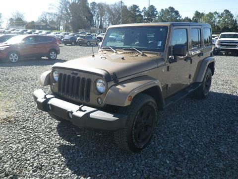 2015 Jeep Wrangler Unlimited for sale in Fort Payne, AL
