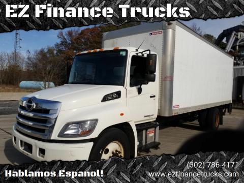 2014 Hino 268 for sale at EZ Finance Trucks in Harrington DE