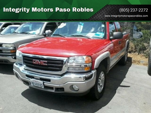 Paso Robles Gmc >> Gmc Sierra 1500 For Sale In Paso Robles Ca Integrity Motors