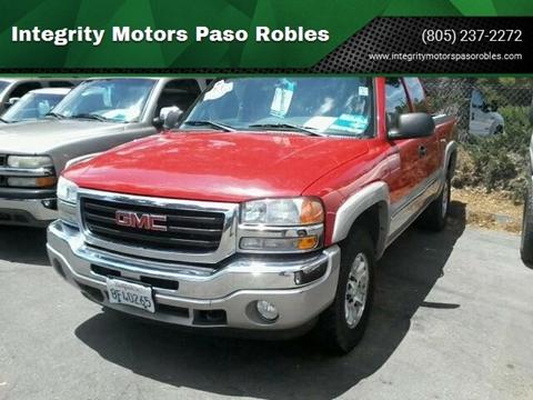 Paso Robles Gmc >> Gmc For Sale In Paso Robles Ca Integrity Motors