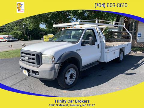 2005 Ford F-550 Super Duty for sale in Salisbury, NC