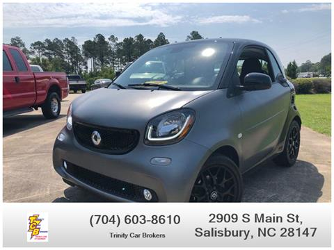 Used Cars Panama City Fl >> 2017 Smart Fortwo For Sale In Salisbury Nc
