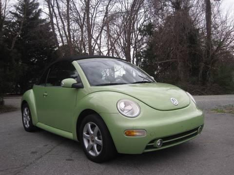 2004 Volkswagen New Beetle Convertible GLS for sale at Pristine AutoPlex in Burlington NC
