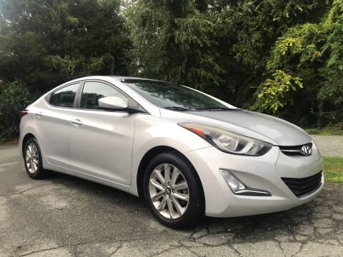2014 Hyundai Elantra for sale at Pristine AutoPlex in Burlington NC