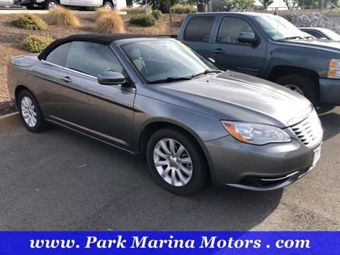 2013 Chrysler 200 Convertible for sale in Redding, CA