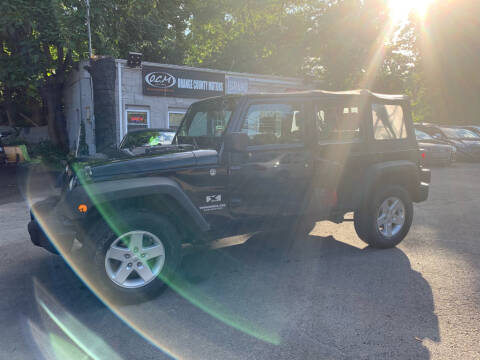2009 Jeep Wrangler Unlimited for sale in Newburgh, NY