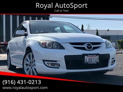 Mazdaspeed3 For Sale >> Mazda Mazdaspeed3 For Sale In Sacramento Ca Royal Autosport