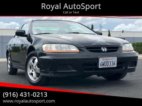 2001 Honda Accord for sale in Sacramento, CA