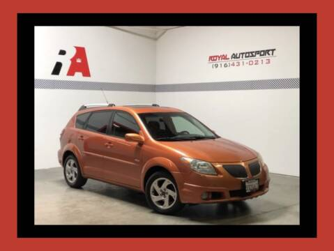 2005 Pontiac Vibe for sale at Royal AutoSport in Sacramento CA