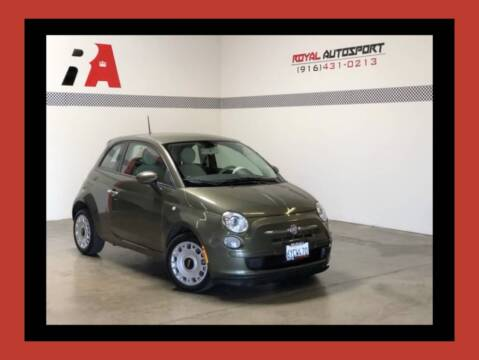 2013 FIAT 500 for sale at Royal AutoSport in Sacramento CA