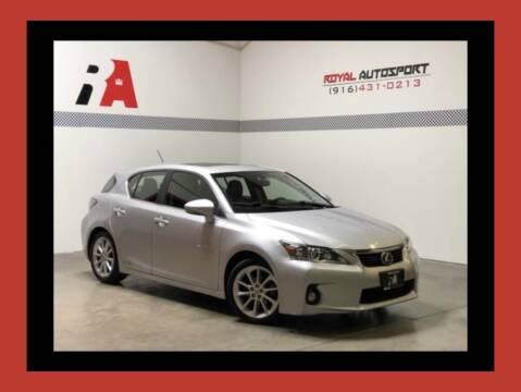 2012 Lexus CT 200h for sale at Royal AutoSport in Sacramento CA