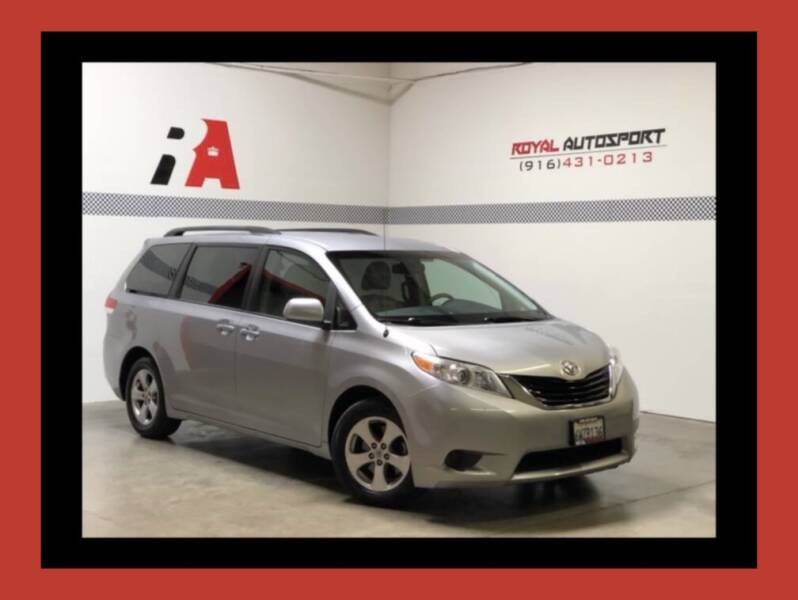 2012 Toyota Sienna for sale at Royal AutoSport in Sacramento CA